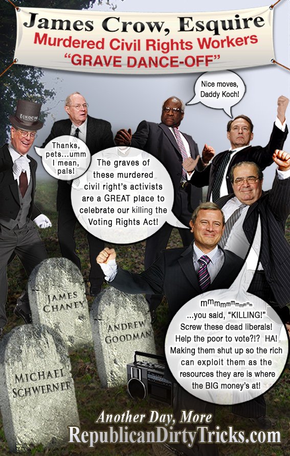 SCOTUS Dances on Chaney Goodman Schwerner Graves