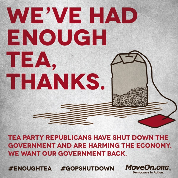 enough of the tea party