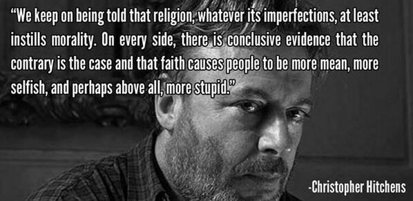 Christopher Hitchens on Religion